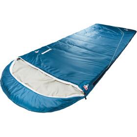 Grüezi-Bag Cloud Cotton Comfort Sleeping Bag, deep cornflower blue
